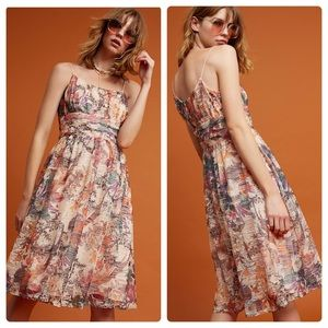 Anthropologie Mackenzie Dress Maeve NWOT Floral